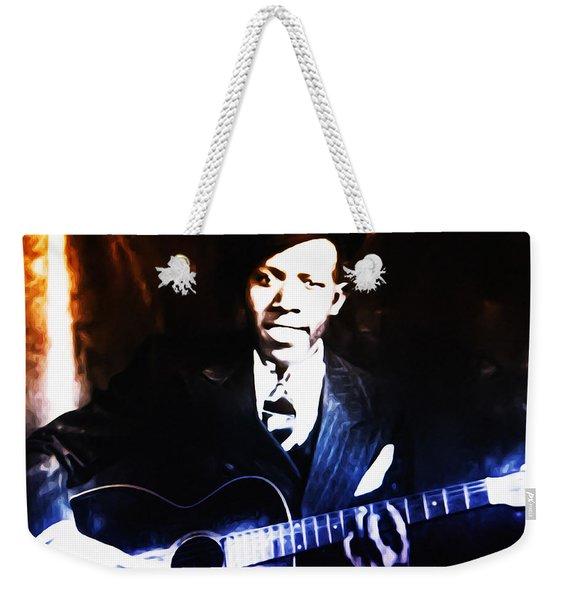 Robert Johnson - King Of The Blues Weekender Tote Bag