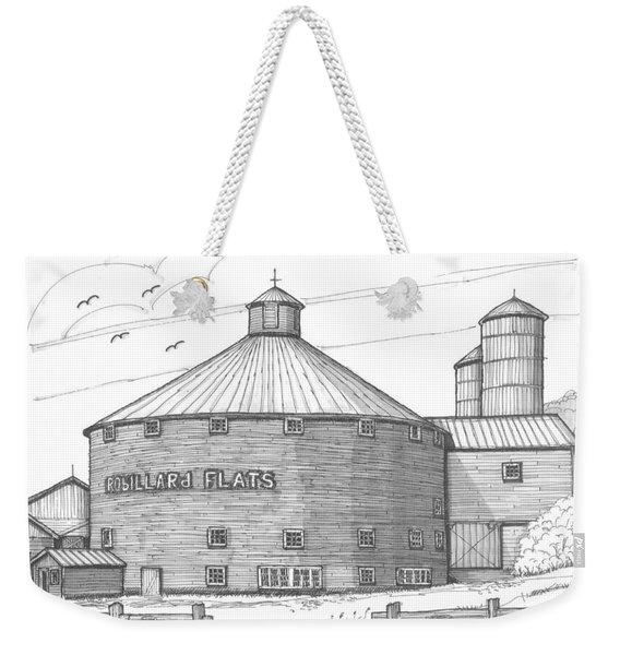 Robillard Flats Round Barn Weekender Tote Bag