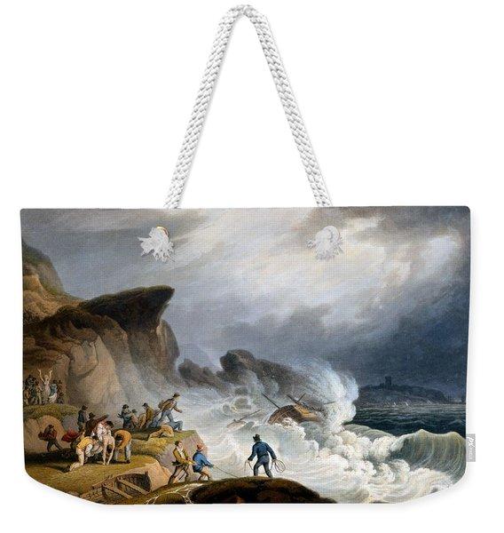 Robin Hoods Bay, Yorkshire, 1825 Weekender Tote Bag