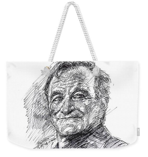 Robin Williams Weekender Tote Bag