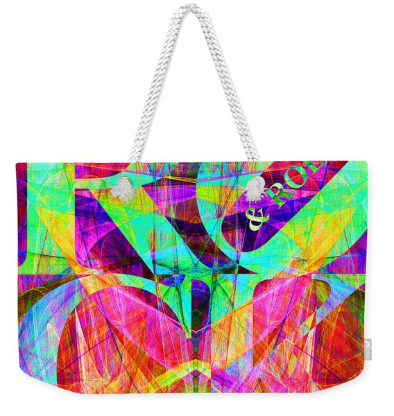 Rock And Roll 20130708 Fractal Weekender Tote Bag