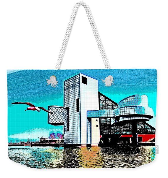 Rock And Roll Hall Of Fame - Cleveland Ohio - 4 Weekender Tote Bag