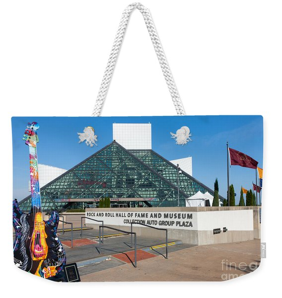 Rock And Roll Hall Of Fame IIi Weekender Tote Bag