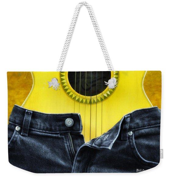 Rock And Roll Woman Weekender Tote Bag