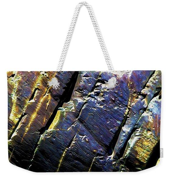 Rock Art 9 Weekender Tote Bag