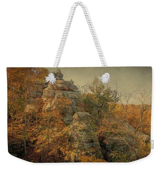 Rock Formation Weekender Tote Bag
