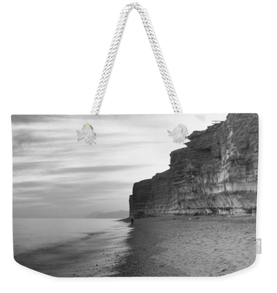 Rock Formations On The Beach, Burton Weekender Tote Bag