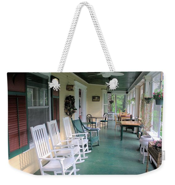 Rockers On The Porch Weekender Tote Bag