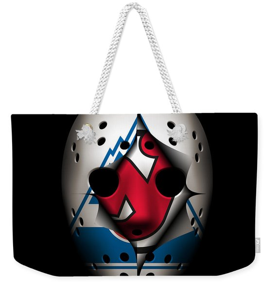 Rockies Become The Devils Weekender Tote Bag