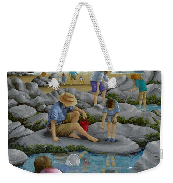 Rockpooling Weekender Tote Bag