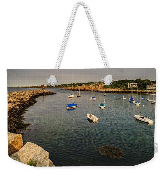 Rockport Gold Weekender Tote Bag