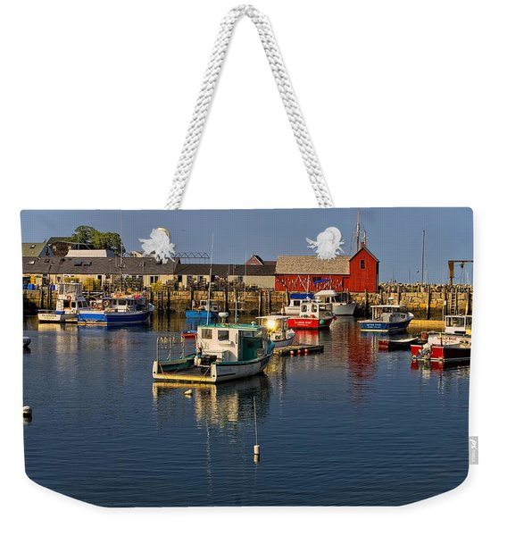 Rockport Harbor No.1 Weekender Tote Bag