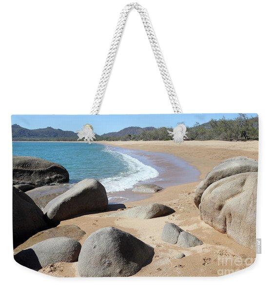 Rocks On The Beach Weekender Tote Bag