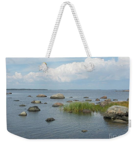 Rocks On The Baltic Sea Weekender Tote Bag