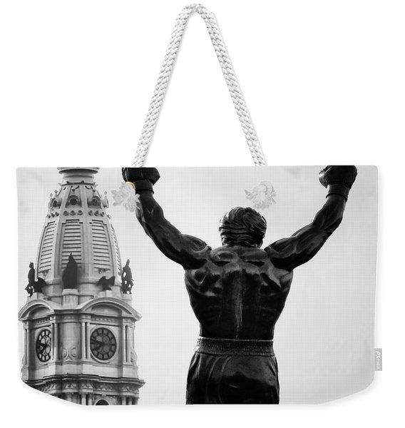 Rocky And Philadelphia Weekender Tote Bag
