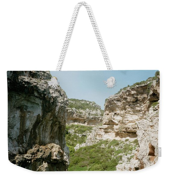Rocky Beach In Croatia Weekender Tote Bag