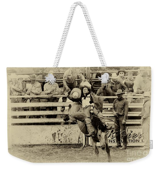 Rodeo Every Move He Makes Weekender Tote Bag