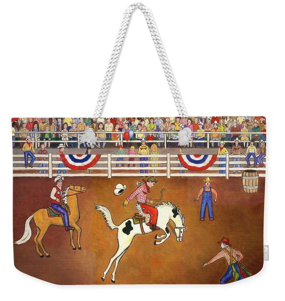 Rodeo One Weekender Tote Bag