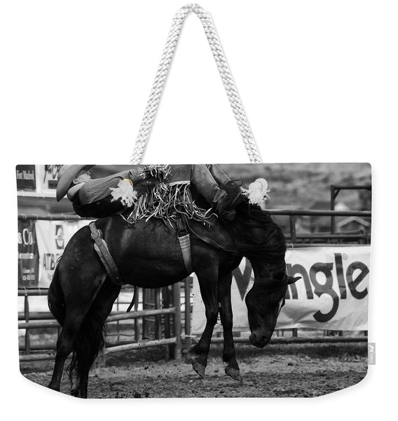 Rodeo Power Of Conviction Weekender Tote Bag