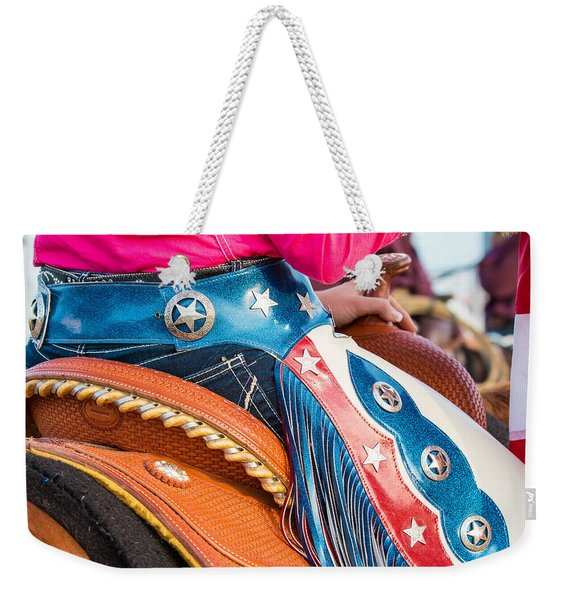 Rodeo Queen Weekender Tote Bag