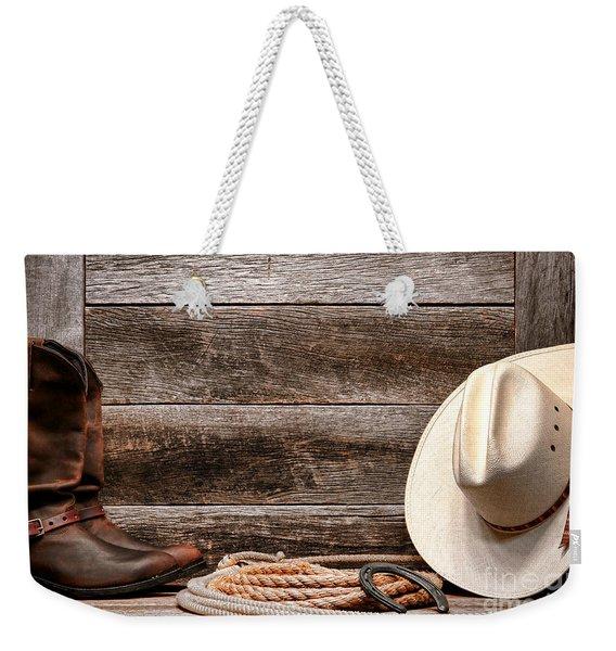 Rodeo Still Life Weekender Tote Bag