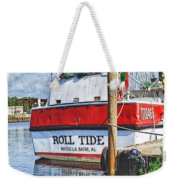 Roll Tide Stern Weekender Tote Bag