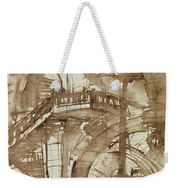 Roman Prison Weekender Tote Bag