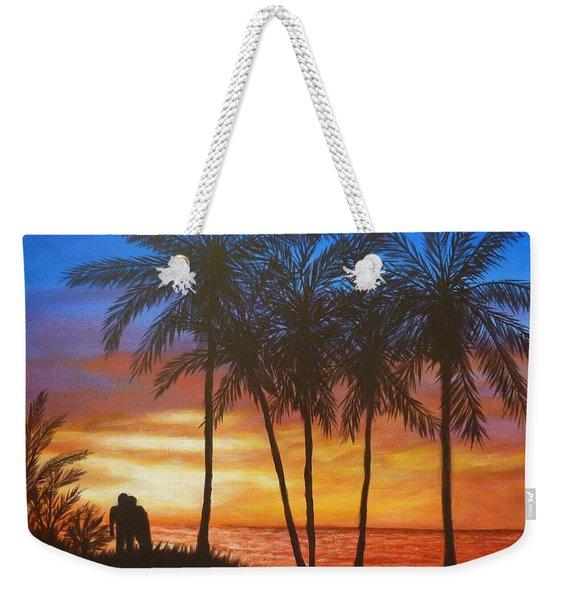 Romance In Paradise Weekender Tote Bag