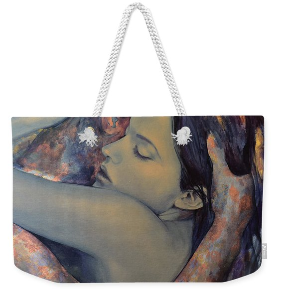 Romance With A Chimera Weekender Tote Bag