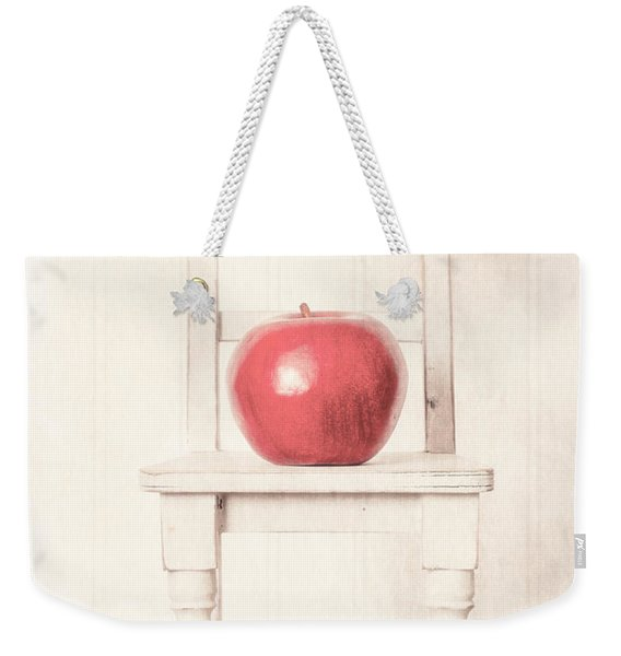 Romantic Apple Still Life Weekender Tote Bag