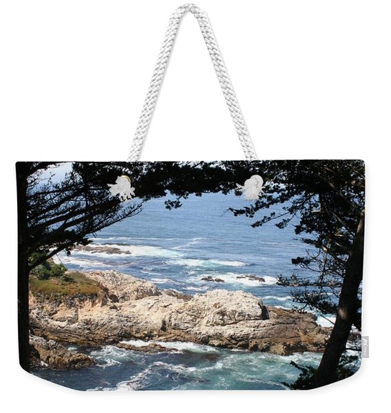Romantic California Coast Weekender Tote Bag