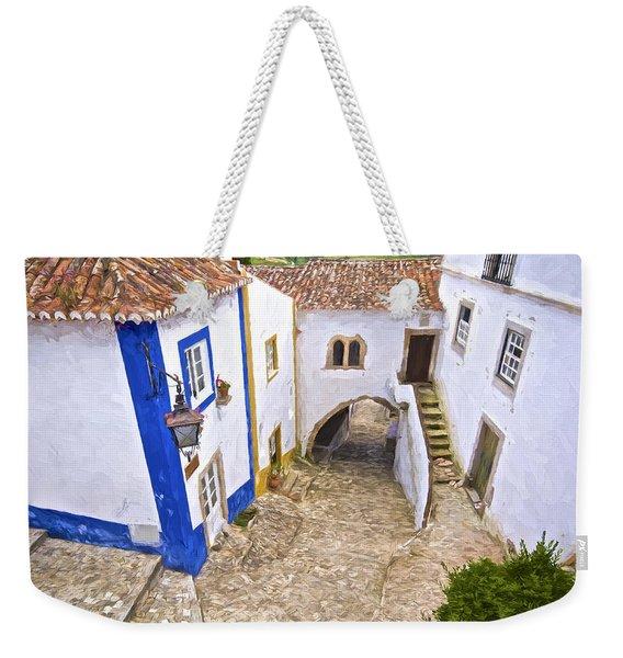Romantic Obidos Weekender Tote Bag