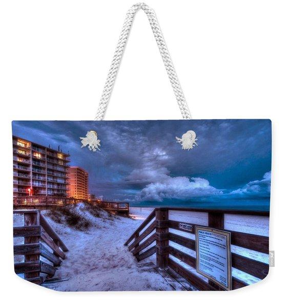 Romar Beach Clouds Weekender Tote Bag