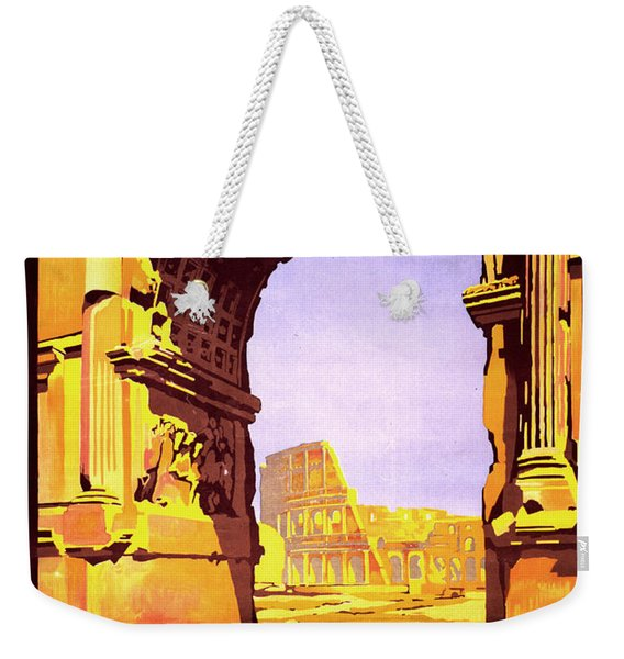 Rome Express Weekender Tote Bag