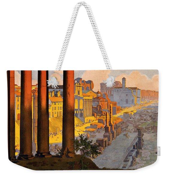Rome Par La Voie Du Mont-cenis Weekender Tote Bag