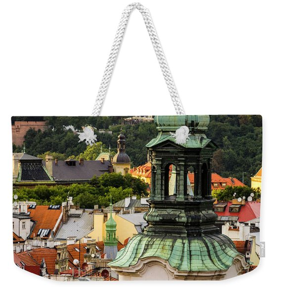Rooftops Of Prague 1 Weekender Tote Bag