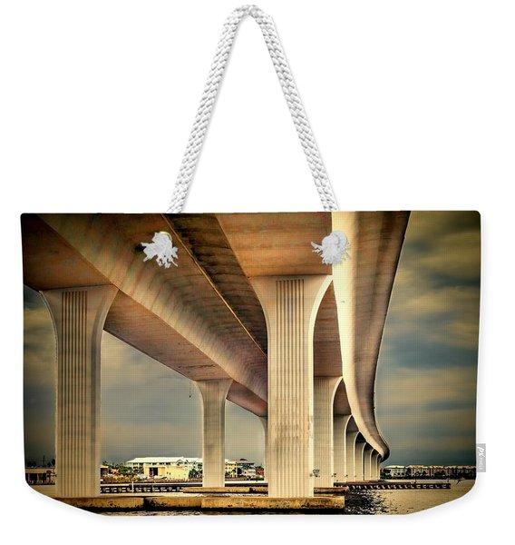 Roosevelt Bridge-1 Weekender Tote Bag