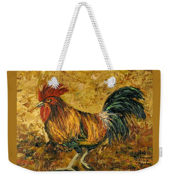 Rooster With Attitude Weekender Tote Bag