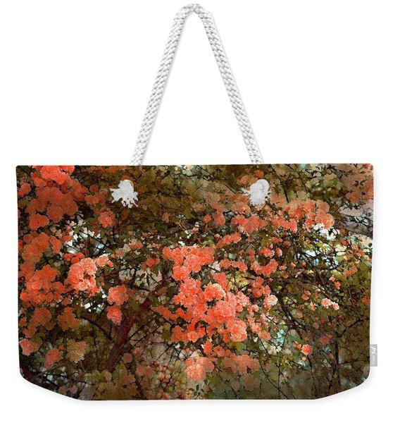 Rose 180 Weekender Tote Bag