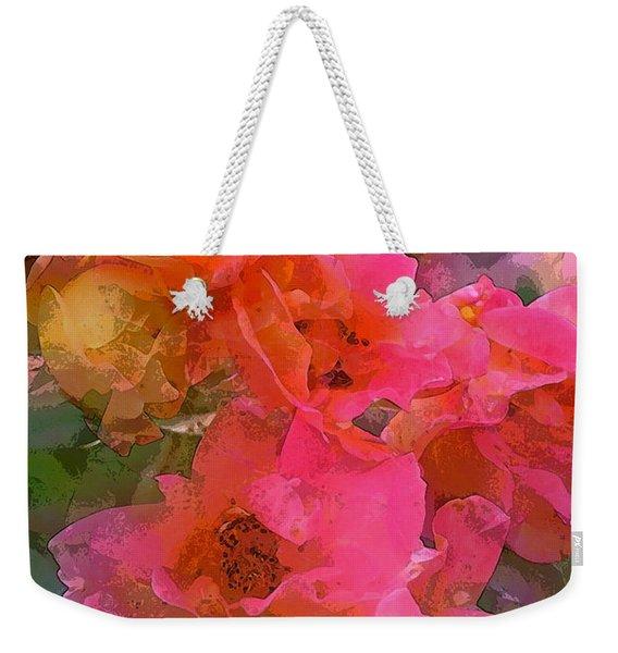 Rose 219 Weekender Tote Bag