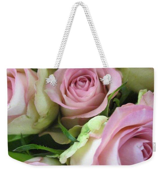 Rose Bed Weekender Tote Bag