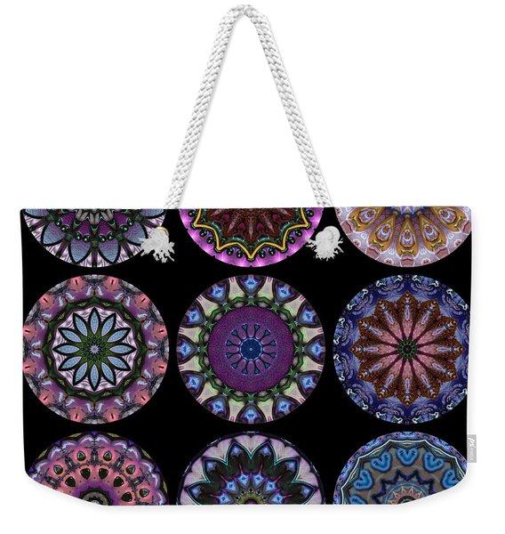 Rose Window Quilt 1 Weekender Tote Bag