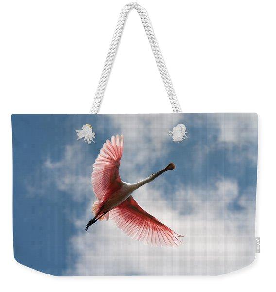 Roseate Soaring Weekender Tote Bag