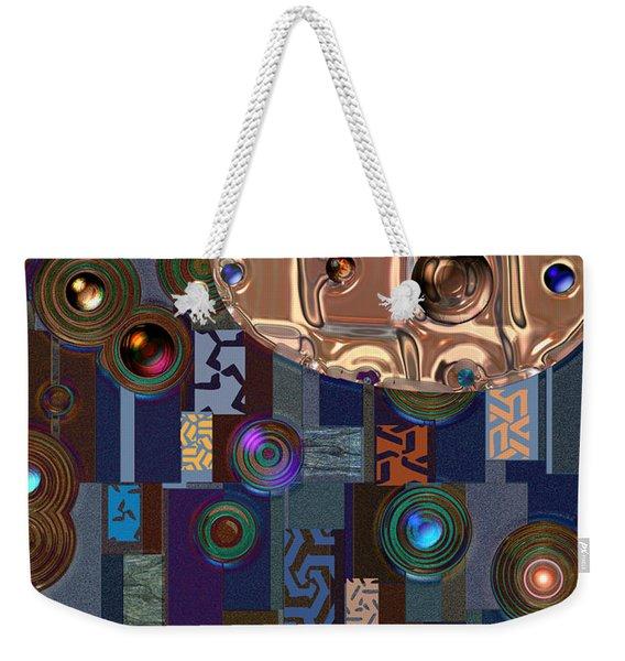 Rosegold River Weekender Tote Bag