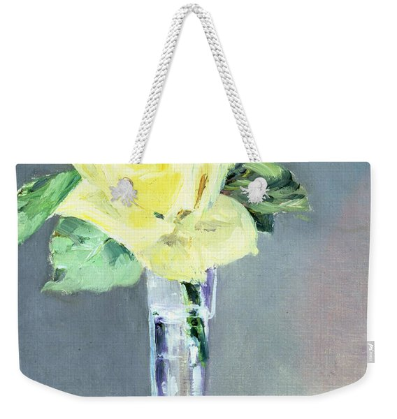 Roses In A Champagne Glass Weekender Tote Bag