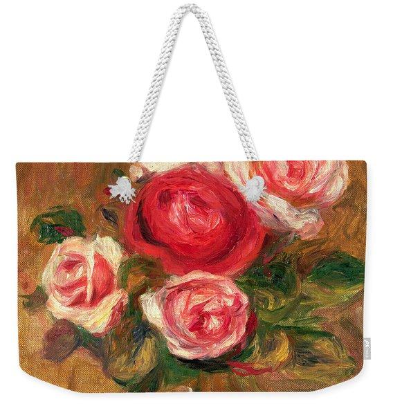 Roses In A Pot Weekender Tote Bag