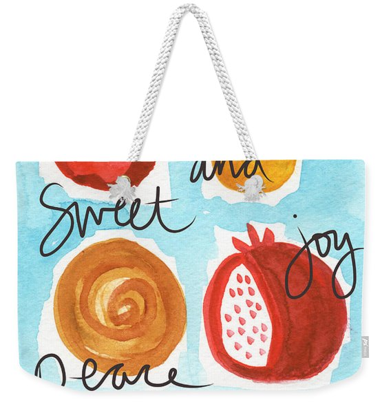 Rosh Hashanah Blessings Weekender Tote Bag