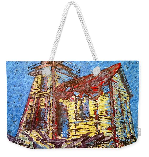 Ross Island Lighthouse Weekender Tote Bag