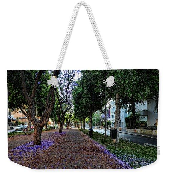 Rothschild Boulevard Weekender Tote Bag