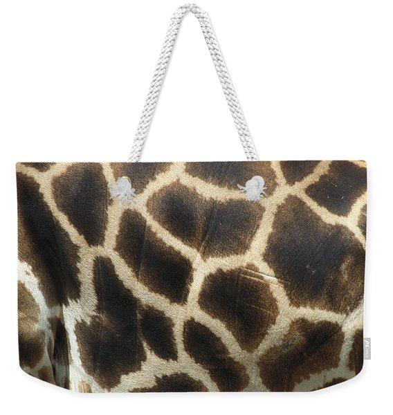Rothschild Giraffe Detail Weekender Tote Bag
